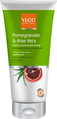 VLCC Pomegranate & Aloe Vera Gentle Exfoliating  Scrub(150 ml)