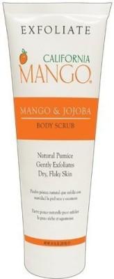California Mango body scrub, vegan mango and jojoba Scrub