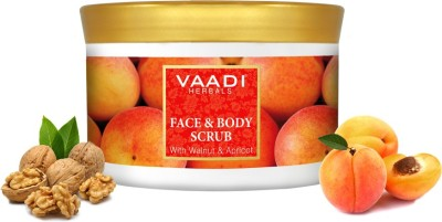 Vaadi Herbals Face And Body Scrub With Walnut And Apricot Scrub(500 g)