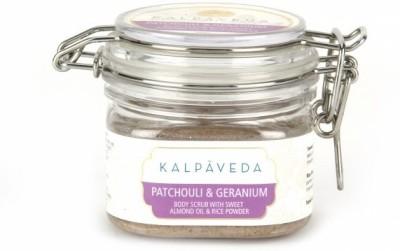 Kalpaveda Patchouli & Geranium Body  Scrub