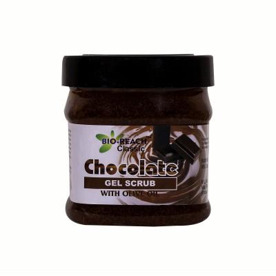 Bio-Reach Chocolate Gel Based Scrub with Olive Oil Scrub