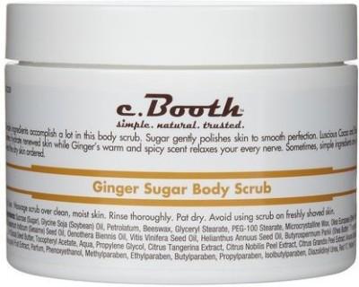 c. Booth body scrub, ginger sugar 8 oz Scrub