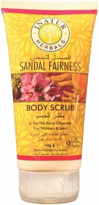 Inatur Herbals Sandal Fairness Body  Scrub