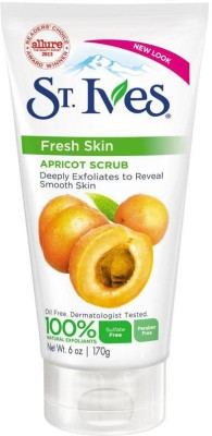 St. Ives Fresh Skin Apricot Scrub(Imported Made In USA) Scrub(170 g)