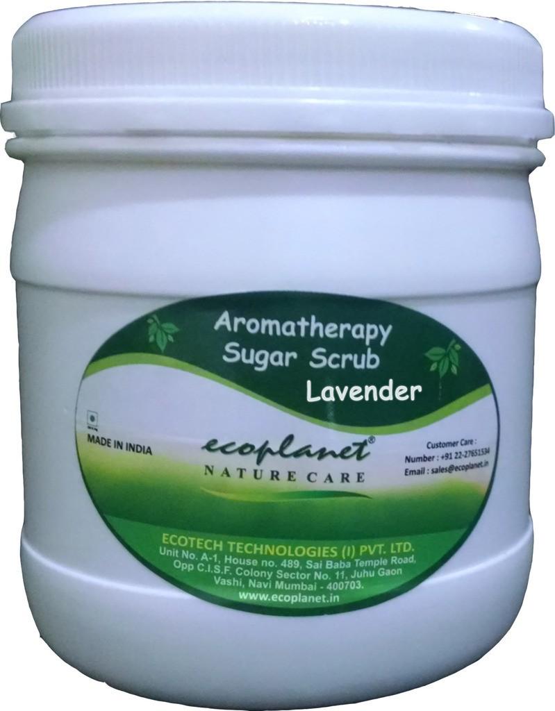 Ecoplanet Aromatherapy Sugar Base Lavender Scrub(1000 g)