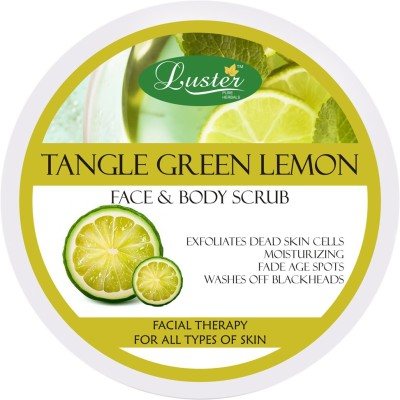 Luster Tangle Green Lemon Face & Body Scrub