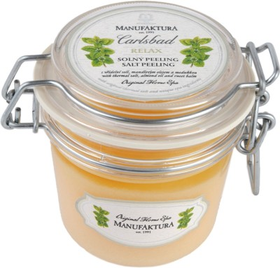 Manufaktura Almond Oil, Sweet Balm and Thermal Salt Spa  Scrub