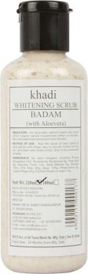 Khadi Manav Herbal Whitening badam with Aloevera Scrub