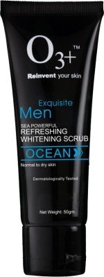 O3+ Men Sea Powerful Refreshing Whitening Scrub