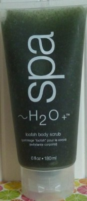 H20 Spa h2o spa loofah body scrub 6 oz by Scrub