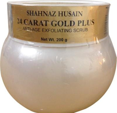 Shahnaz Husain 24 Carat Gold Plus Anti-Age Exfoliating Scrub