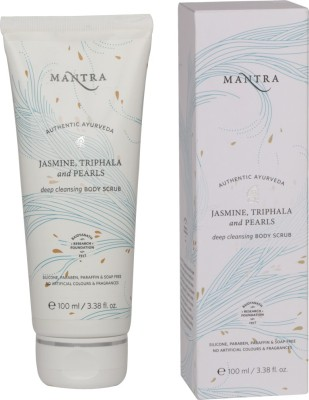 Mantra Jasmine, Triphala And Pearls Deep Cleansing Body Scrub