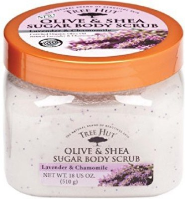 Tree Hut olive and shea sugar body scrub Scrub