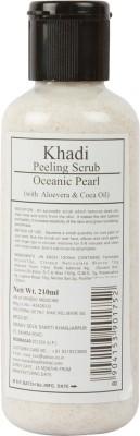 Khadi Manav Herbal Peeling Oceanic Pearl with Aloevera & Coca Oil Scrub