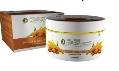 Pure Organics Walnut & Corn  Scrub