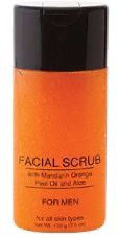 Treat-ur-Skin Jolie Facial Scrub W/ Mandarin Orange Peel Oil & Aloe - For Men Scrub(150 g)