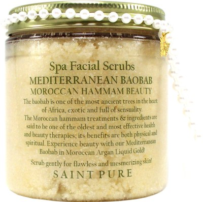 Saint Pure Mediterranean Baobab Spa & Beauty Face  Scrub
