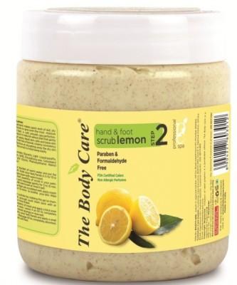 the body care Lemon hand & foot Scrub