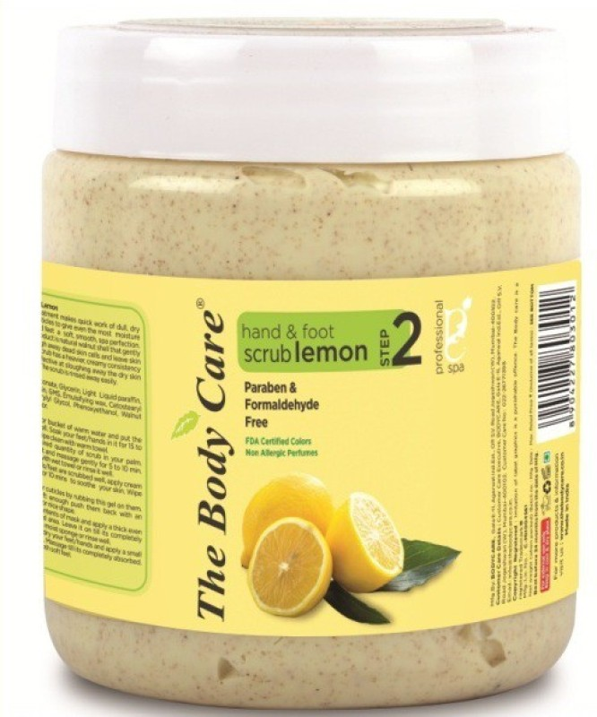 The Body Care Lemon hand & foot Scrub(500 g)
