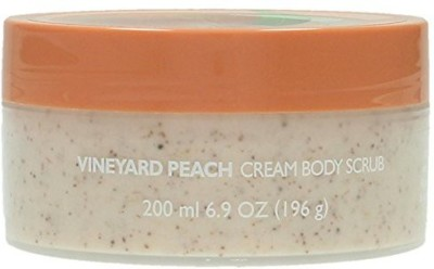 The Body Shop Vineyard Peach Body Scrub A0 Peach Scrub(200 ml)