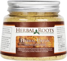 Herbal Roots Fairness Ubtan - For skin whitening & radiance Scrub