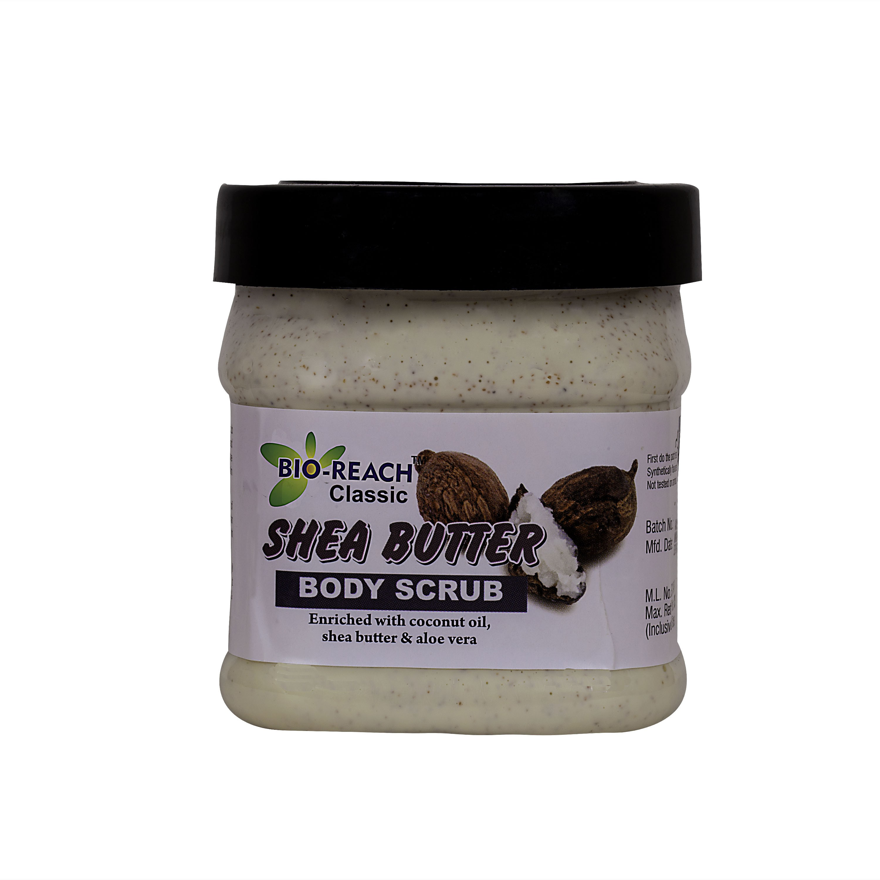 Bio-Reach Shea Butter Body  Scrub(500 ml)