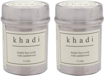 Khadi Natural Sandalwood Pack Of 2 Scrub