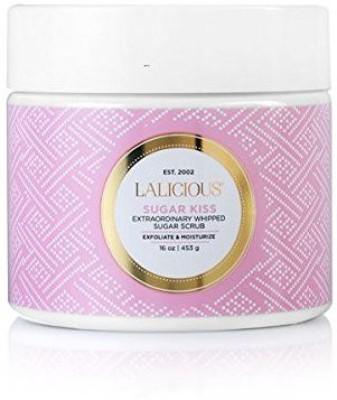 Lalicious sugar kiss 453g/16oz extraordinary whipped sugar scrub Scrub