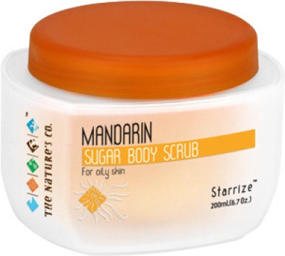 The Natures Co Mandarin Sugar Body Scrub