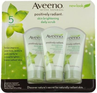 Aveeno Skin Brightening Daily Scrub, Tubes Scrub(140 g)
