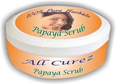 All Curez Papaya  Scrub