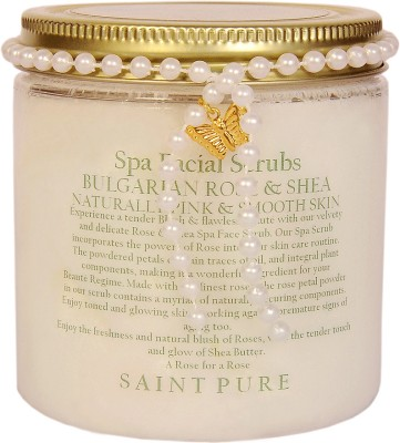 Saint Pure Bulgarian Rose & Shea Beaute Face  Scrub