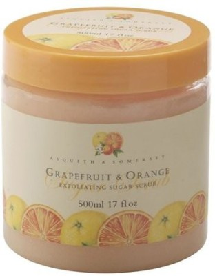 Asquith & Somerset tropical fruits grapefruit Scrub