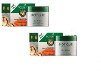 Biotique Bio Walnut Purifying & Polishing Scrub (Pack of 2) Scrub