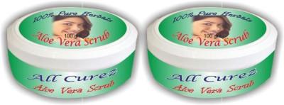 All Curez Aloe Vera (Set Of 2) Scrub