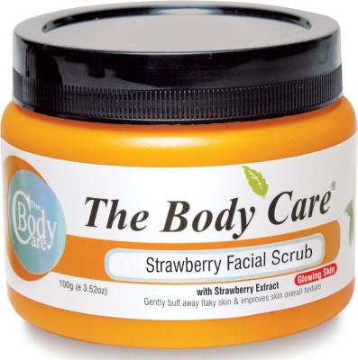 The Body Care Strawberry Facial Scrub