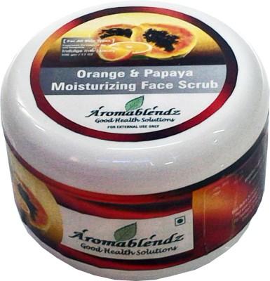 Aromablendz Orange & Papaya Face Scrub