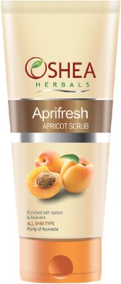 Oshea Herbals Aprifresh - Apricot (All Skin Types) Scrub(120 g)
