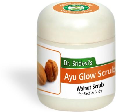 Dr. Sridevi's Ayu Glow Scrub-Walnut Scrub
