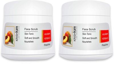 Krishkare Face Peaches Scrub
