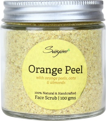 SVAYAM NATURAL Orange Peel  Scrub