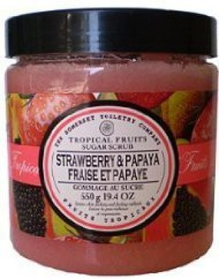 Asquith & Somerset papaya & strawberry Scrub