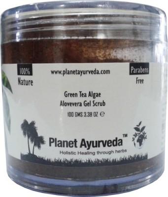 Planet Ayurveda Green Tea Algae Aloe-vera Gel Scrub