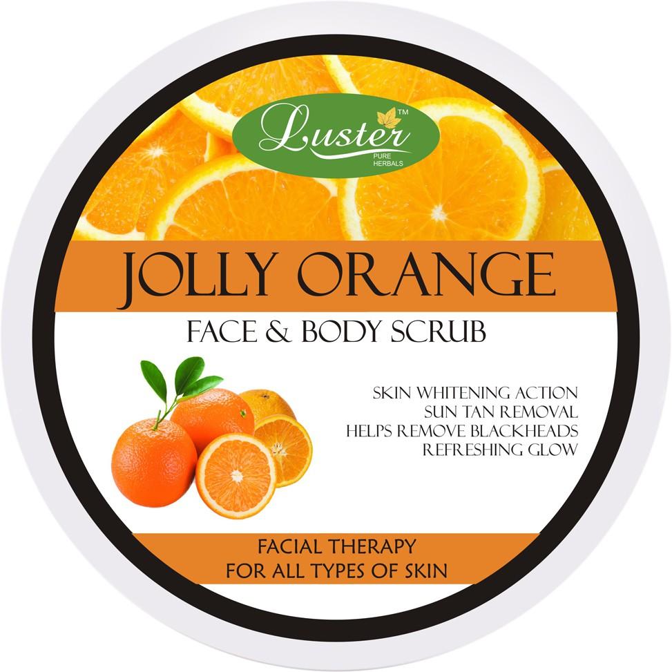 Luster Jolly Orange Face & Body  Scrub(400 g)