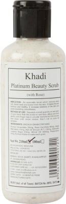 Khadi Manav Herbal Platinum Beauty with Rose Scrub