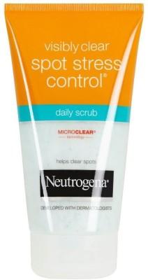 Neutrogena Visible Clear Spot Stress Control Daily Scrub(149 ml)