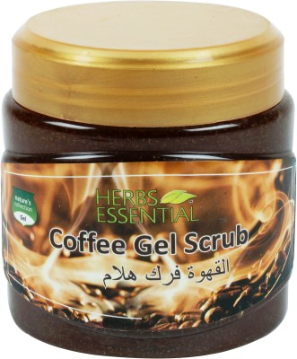 Herbs Essential Coffee Gel  Scrub