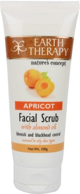 EARTH THERAPY Apricot With Almond Oil Facial Scrub