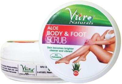 Vitro Naturals Aloe Body & Foot Scrub(100 g)