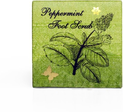 SOS Organics Natural, Moisturizing, Soothing Peppermint Scrub for Feet Scrub